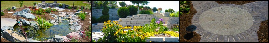 Award winning landscape design by Lang Landscape,Northeastern Wisconsin,Fox Valley Web Design,Retaining walls,walkways,patios,fencing,online websites,planting,flowers,trees,custom landscape designers,Green Bay, Appleton