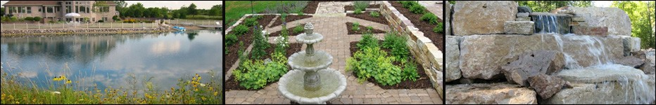 Waterfalls, Ponds, Contractors,Wisconsin, Lang Landscape & Design, Fox Valley Web Design, Award Winning Landscape Services,Green Bay, Appleton,WI